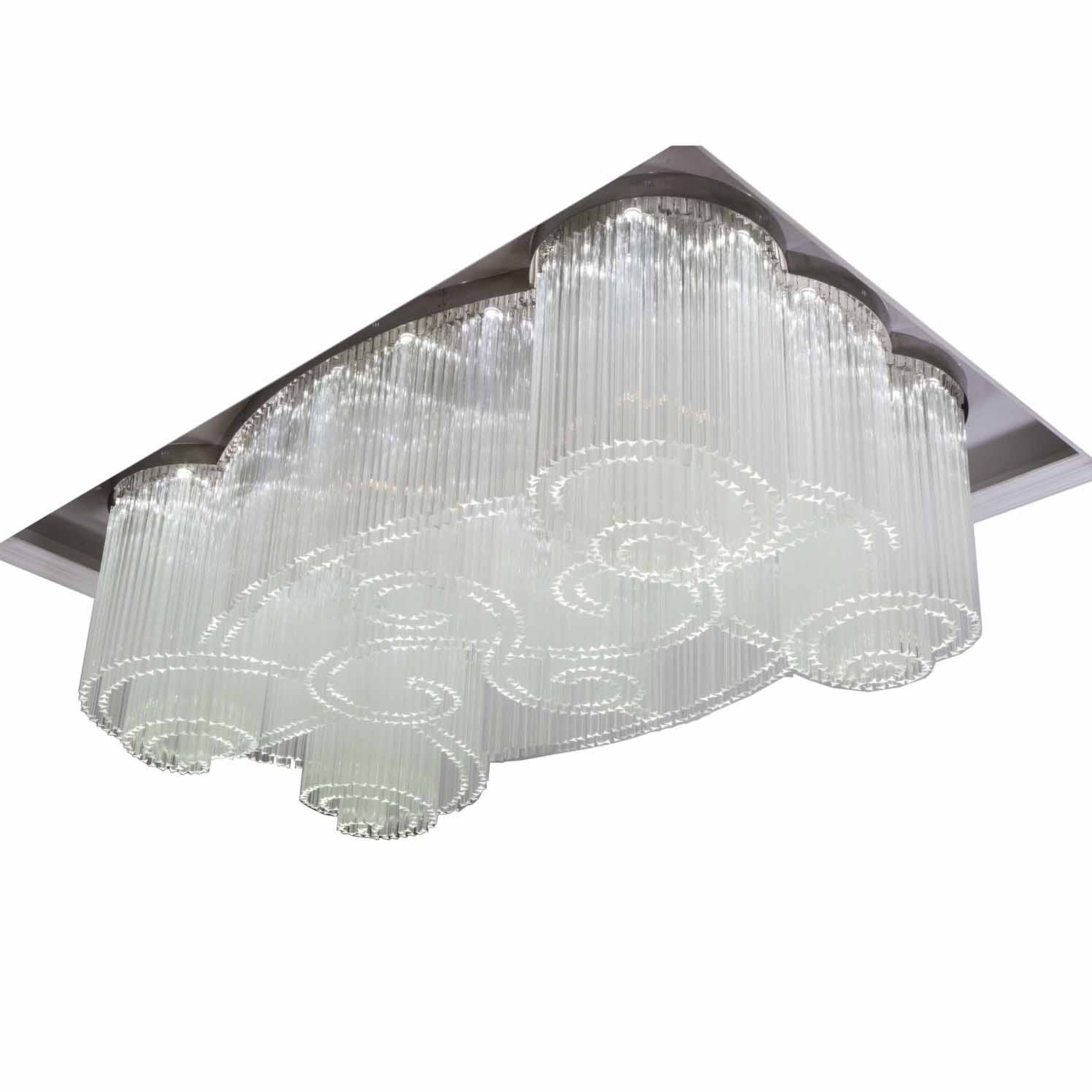 acrylic crystal chandelier manufacturers modern for lobby EME LIGHTING