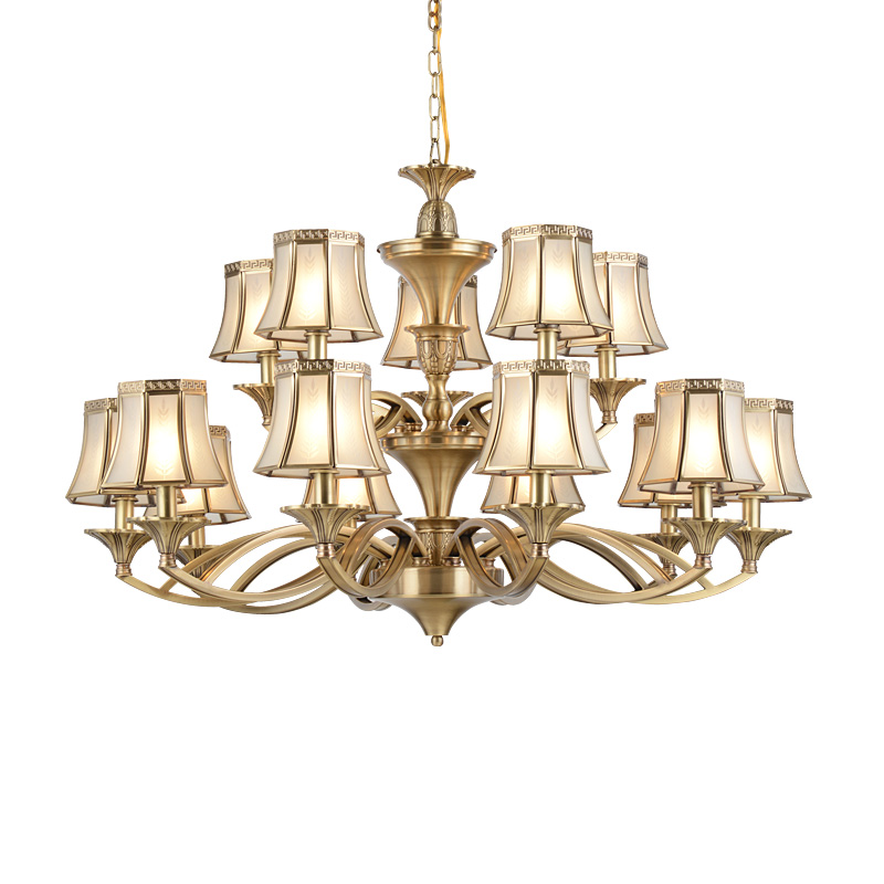 decorative chandeliers unique lighting copper EME LIGHTING Brand company