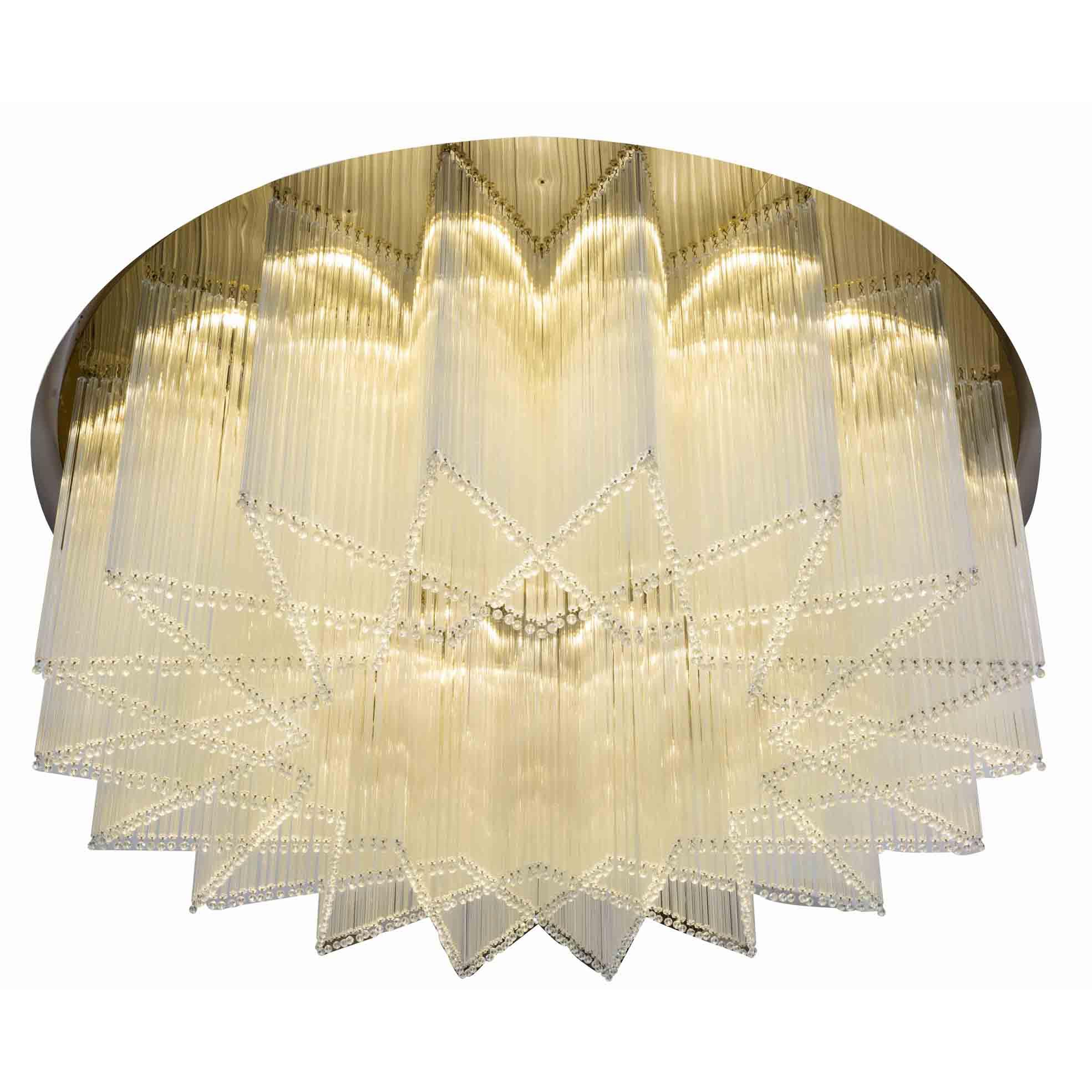 round restaurant chandeliers acrylic for lobby EME LIGHTING