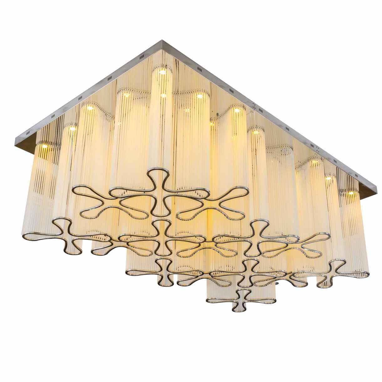 elegant chandelier round for lobby EME LIGHTING