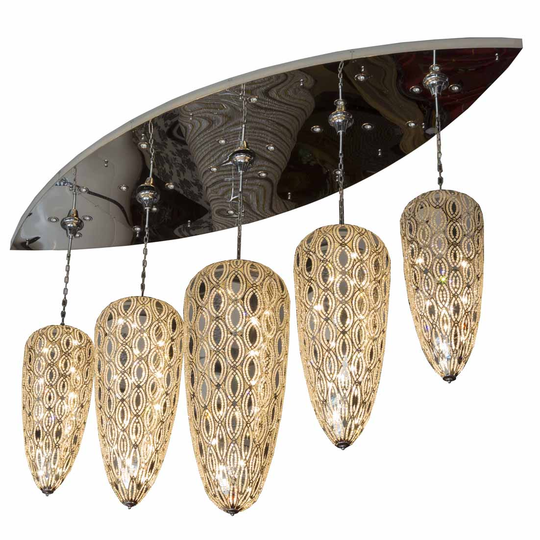 unique wholesale candle chandeliers for dining room
