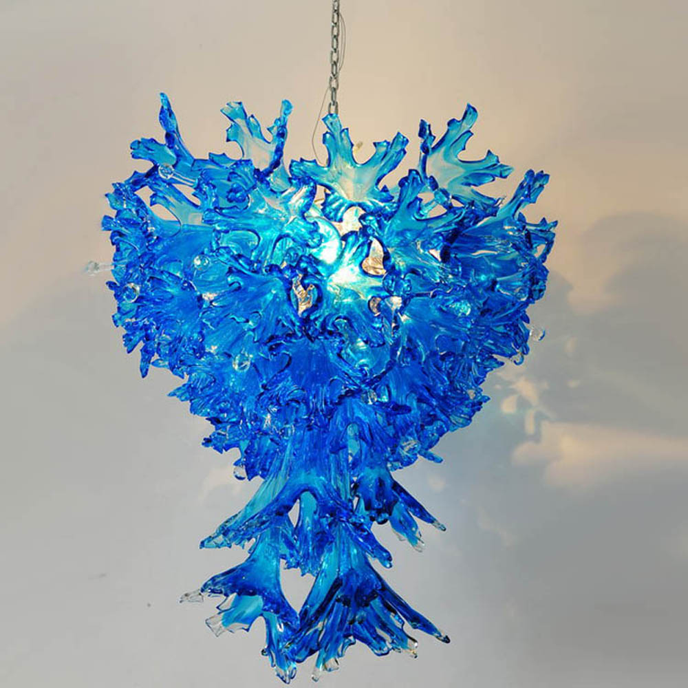 Blue Hanging Chandelier (MD336-drops)