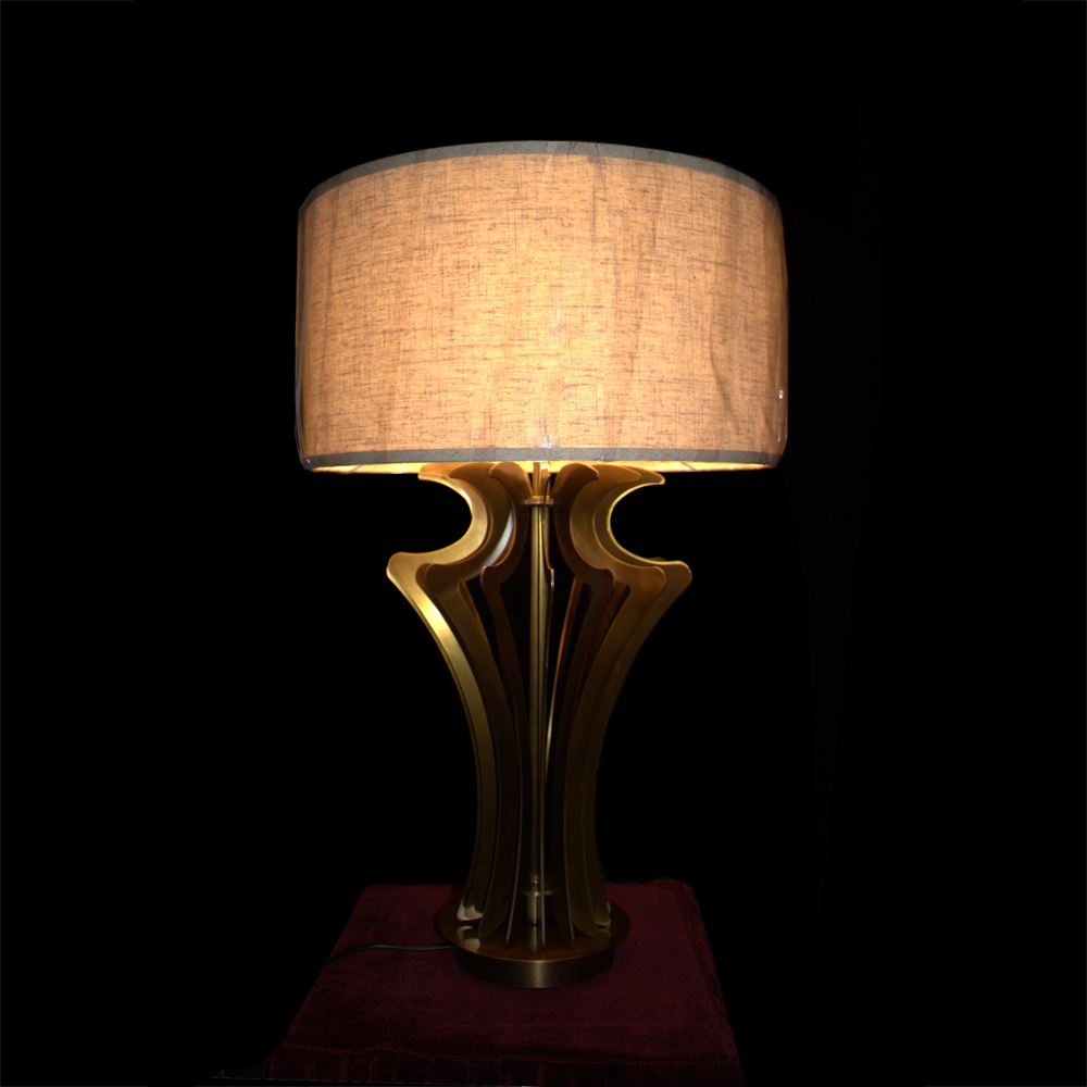 decorative wood table lamp modern factory price for room