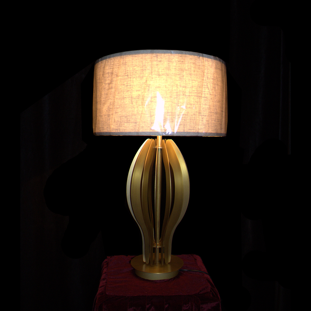 chrome and glass table lamps design american hotel EME LIGHTING Brand western table lamps