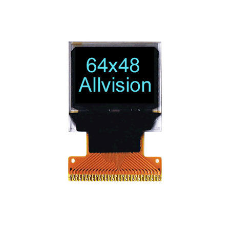 Monochrome OLED Displays 0.66'' 64*48