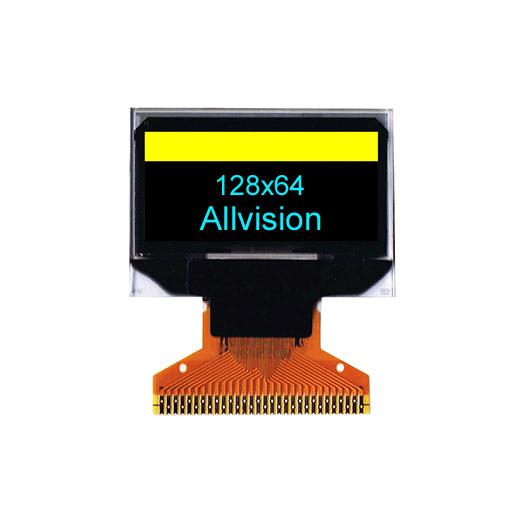 单色OLED显示0.96