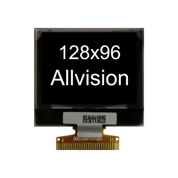 """单色OLED显示器1.3""""128 * 96"""