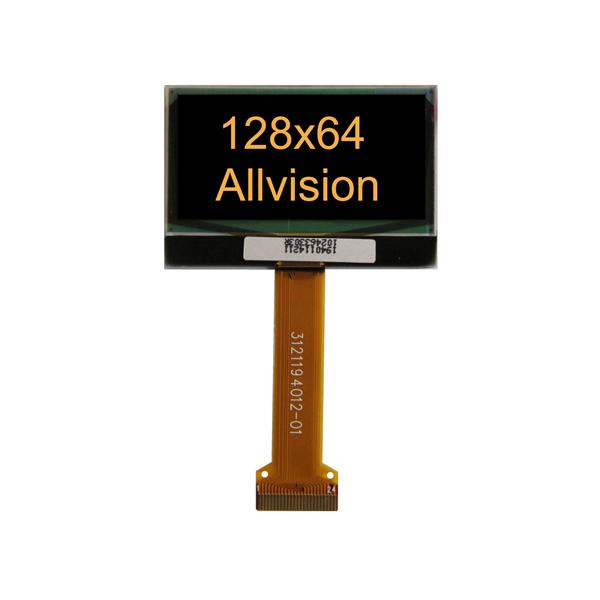 单色OLED显示屏1.6'' 128 * 64